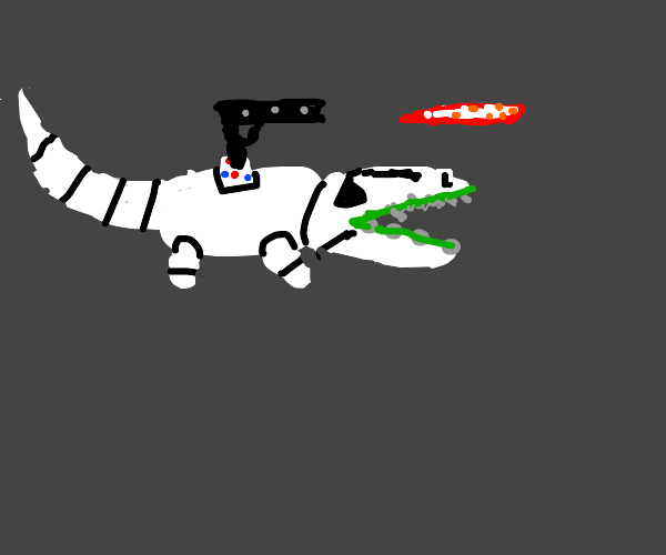 Stormtrooper gator