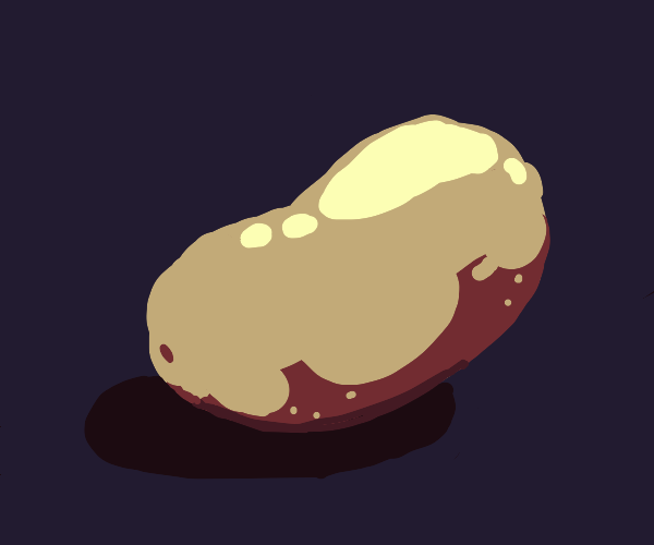 Lonely potato
