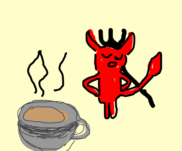 Tea is a weapon against demons