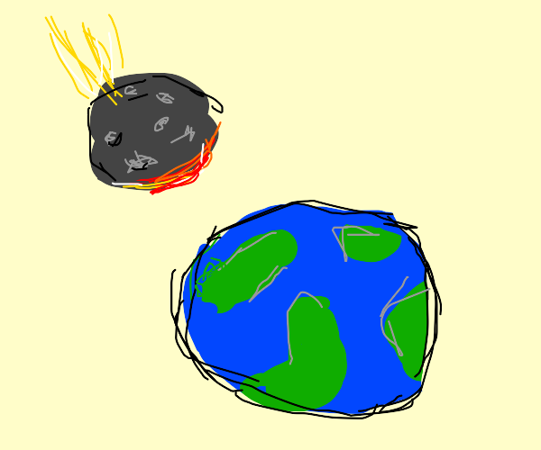 Meteor Going to Hit Earth.