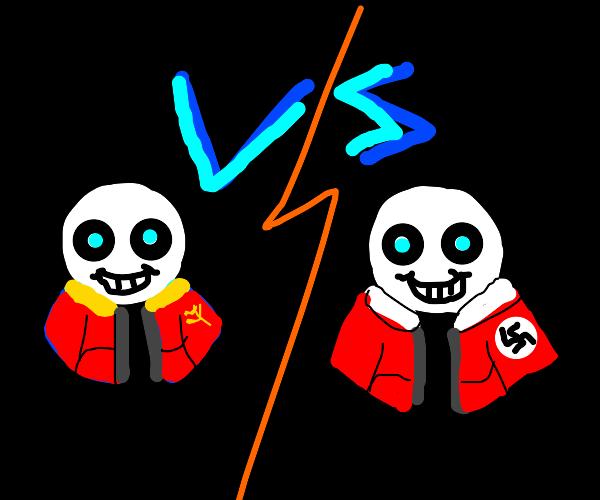 soviet sans vs nazi sans