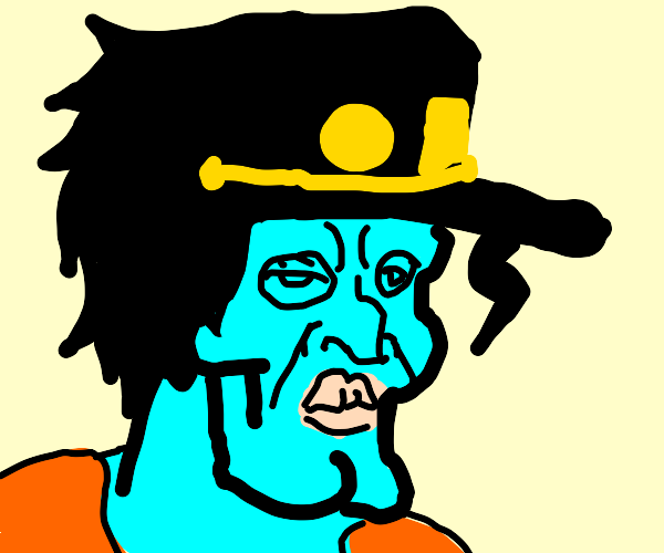if squidward was in jojo