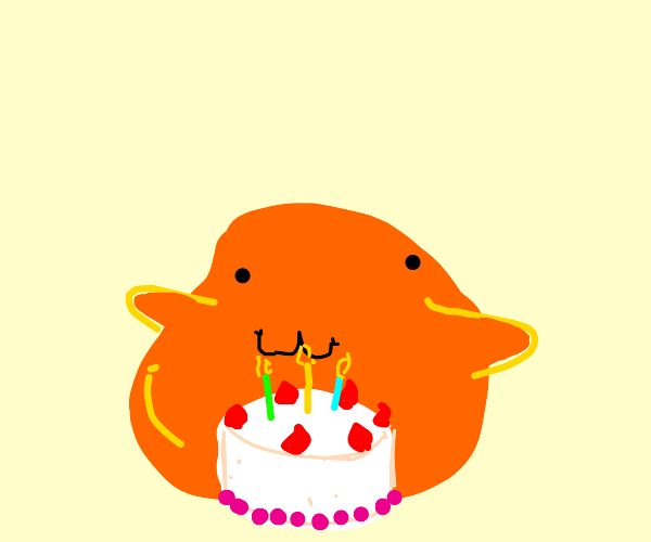 Sscp 999 has a birthday cake with thee
