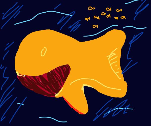 Goldfish whale