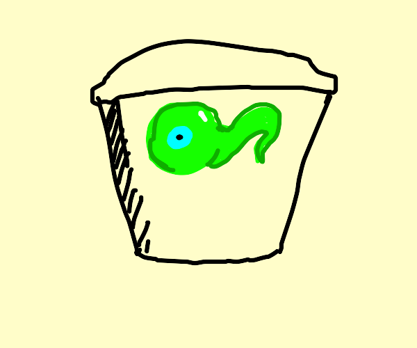 jacksepticeye eye in a container