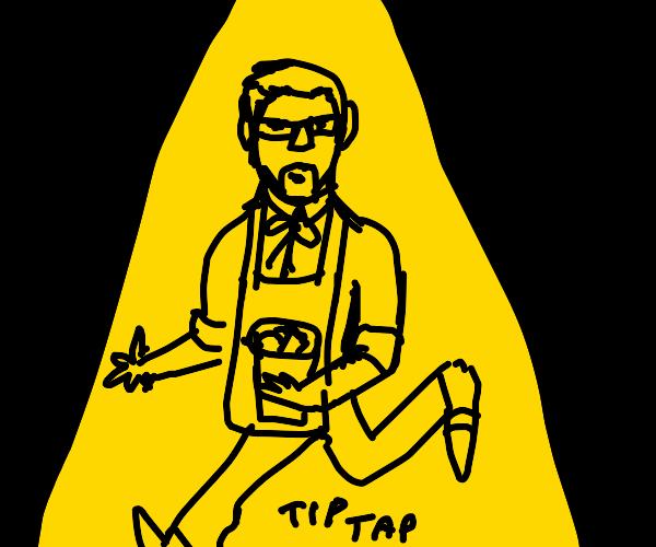 Colonel Sanders Tap Dancing