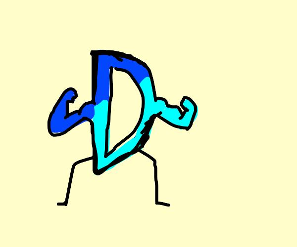 Drawception has muscles