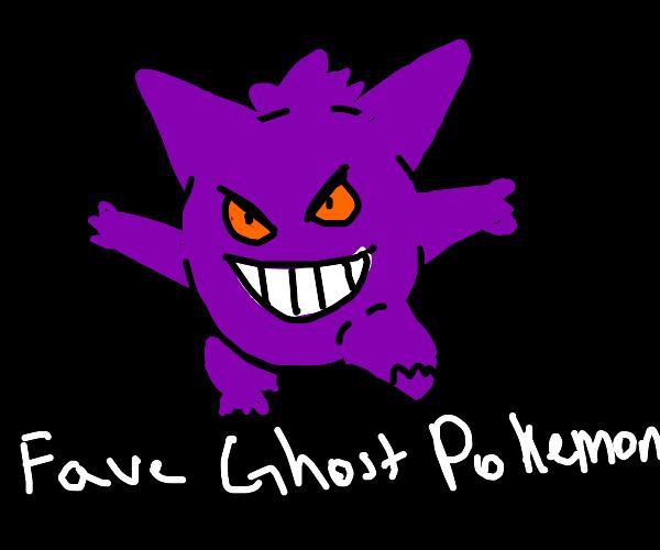 Fave Ghost Pokemon PIO (Mine's Decidueye)