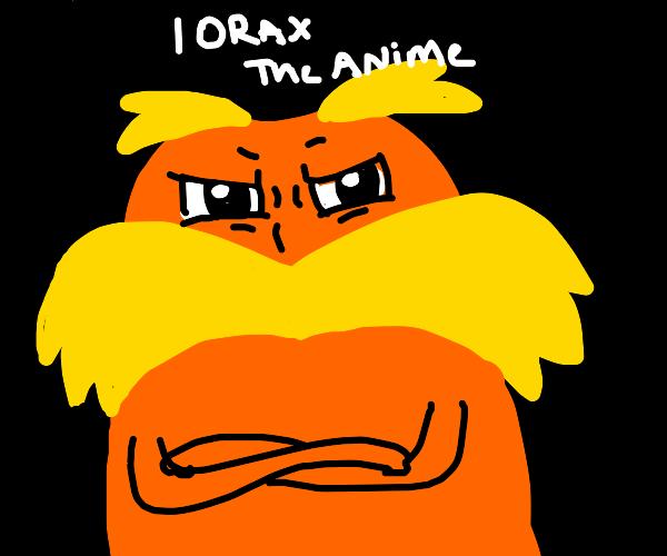 The Lorax anime