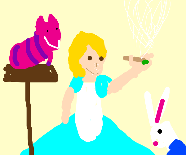 Alice is on Drugs