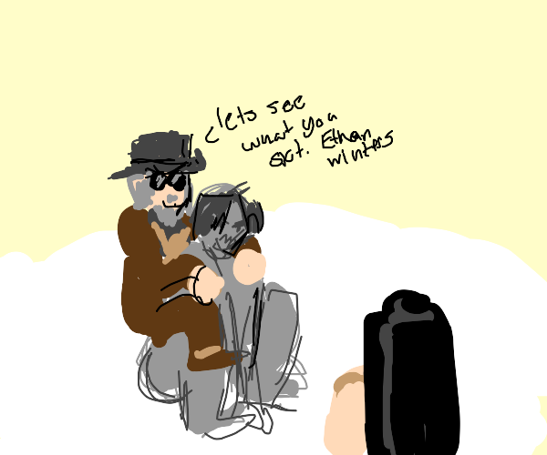 Heisenjedi riding Lycan. Watch out Ethan!