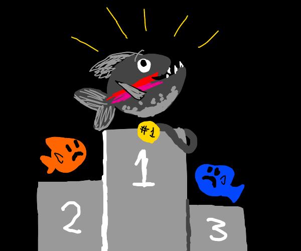 Victorious Piranha