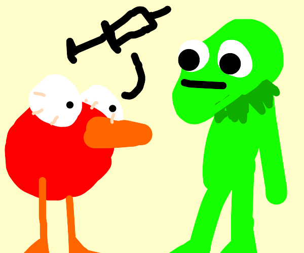 bird tells kermit about his heroin addiction