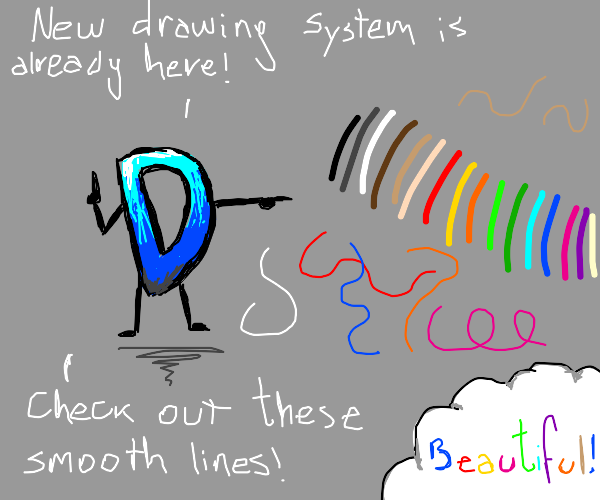 Switching to new drawing system soon!
