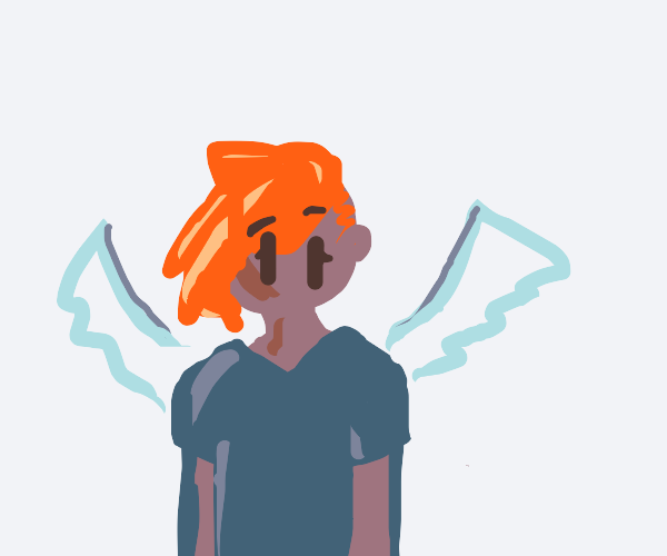 Alien with wings