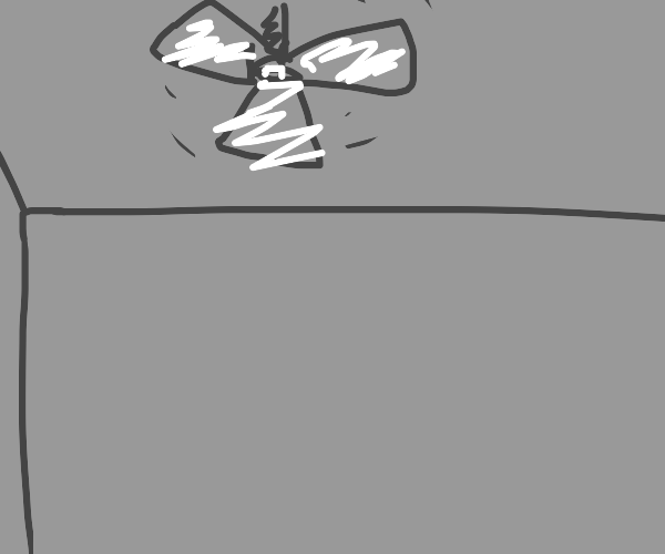 Ceiling fan spinning around