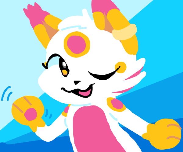 Fairy-Fire type fakemon