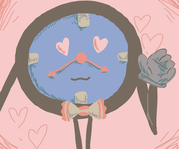 DHMIS clocks in love