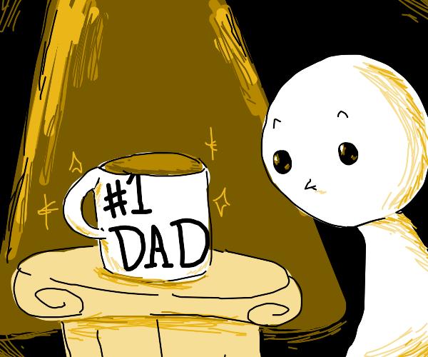 observe the mug