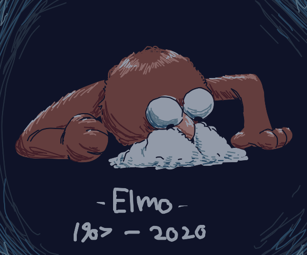 """In memory of """"Elmo snorting cocaine"""""""