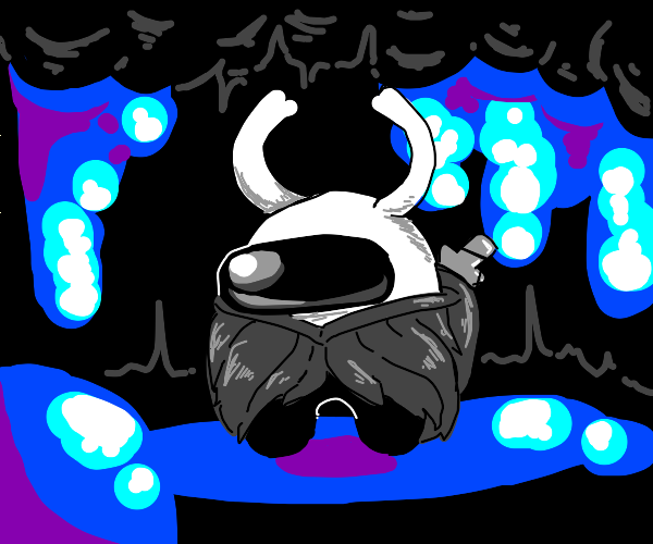 Hollow Knight/Among Us crossover