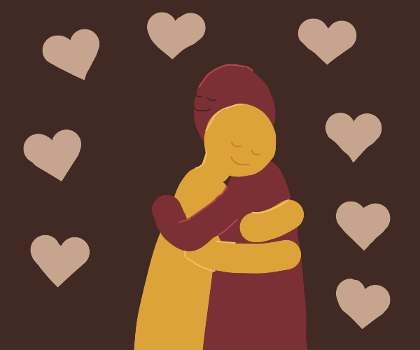 a beautiful hug
