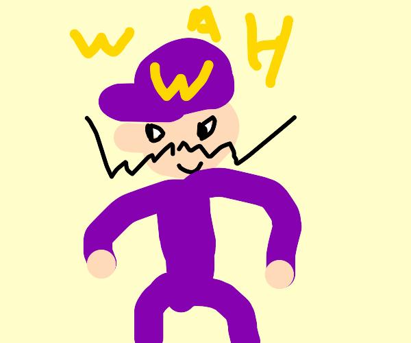 Waluigi in Smash Bros!