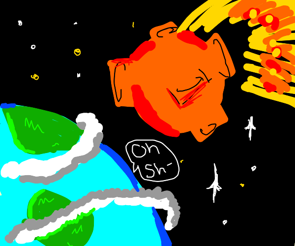 big comet about to destroy the earth