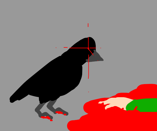 crow murdered a person