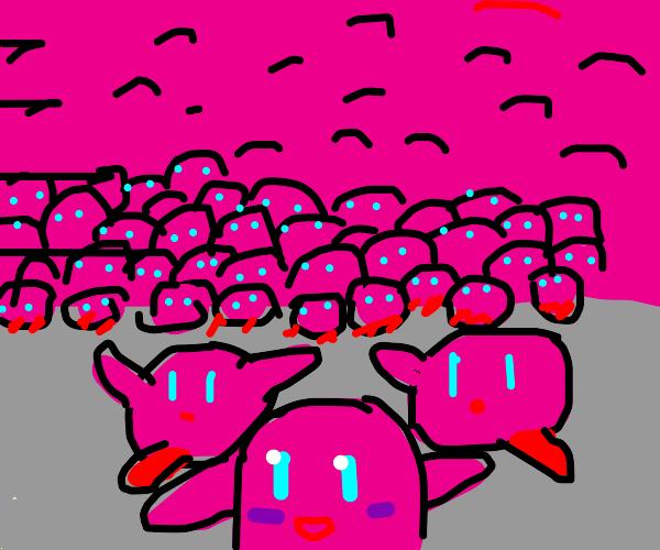 a critical mass of Kirbys