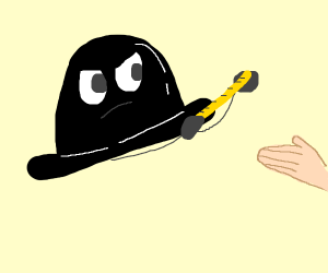 a hat is about to discipline you