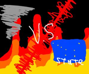 Tornado vs Alaska
