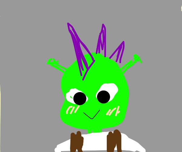 Shrek with a sick new hairdo