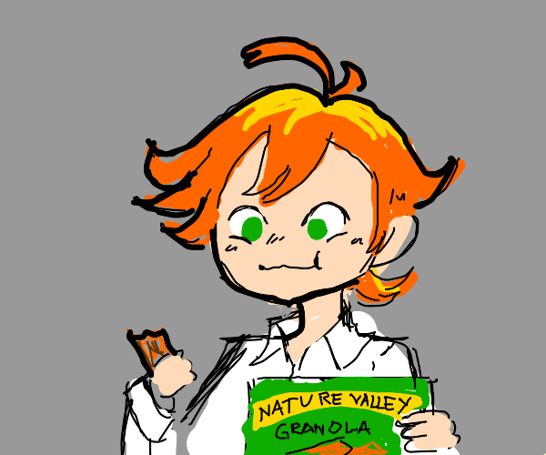 Emma (TPN) likes Nature Valley granola bars
