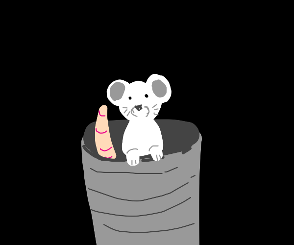 rat in a can