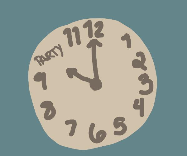 It's Party o' clock