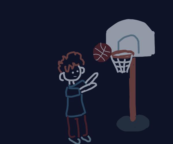 Playin' some hoops