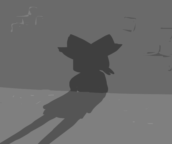 Silhouette of Madeline