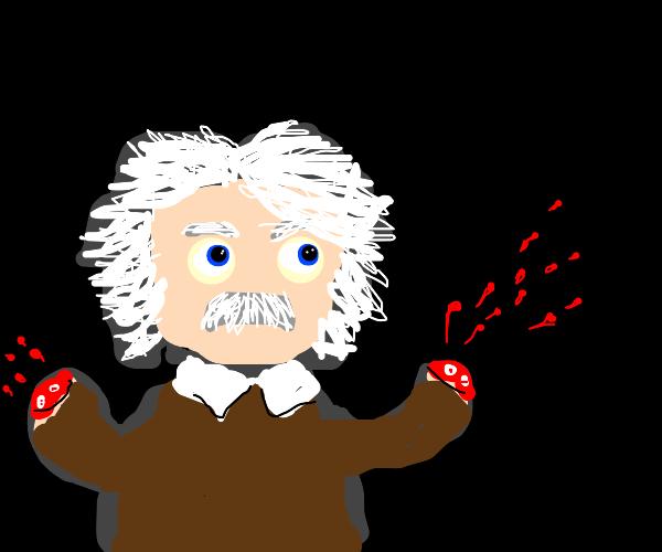 Einstein without hands