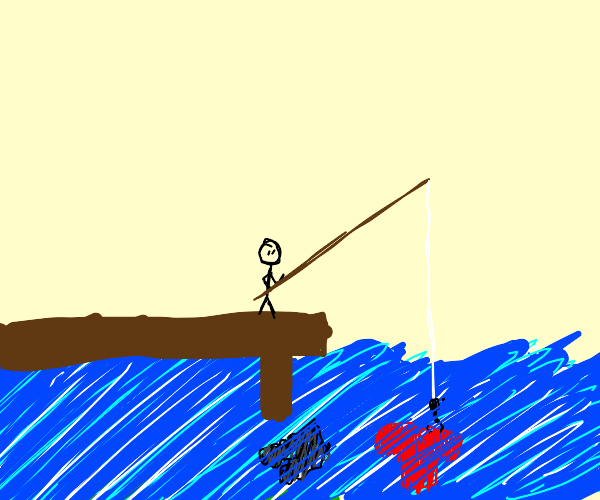 fishing for your clothes