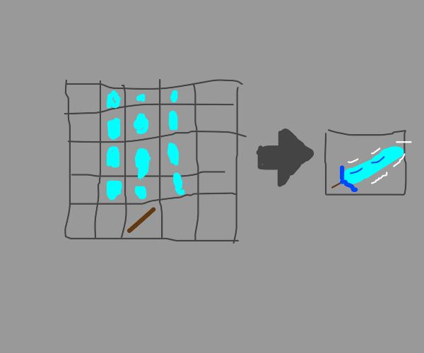 Building the ultimate diamond sword