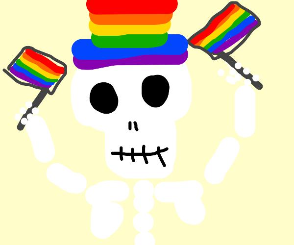 Gay skeleton