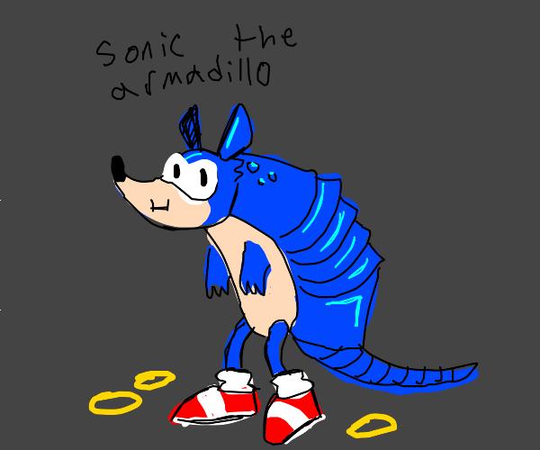 Sonic the armadillo