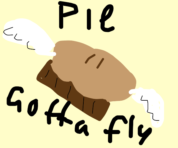 Pie with wings