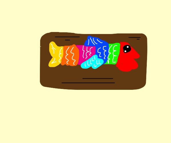 Ceramic Rainbow Trout