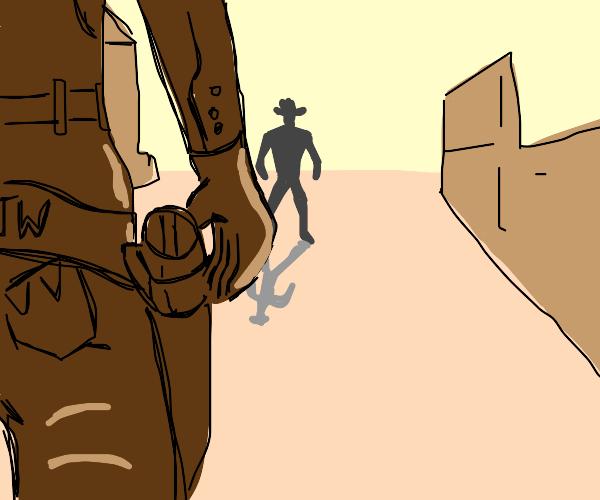 Wild west duel