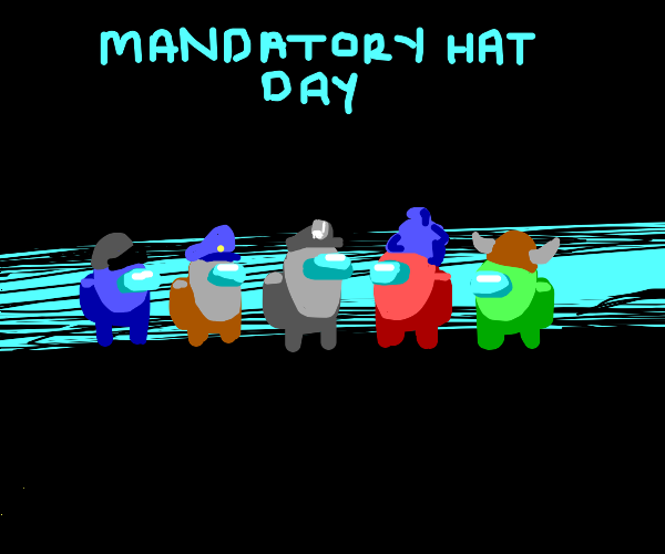 Among Us: Mandatory Hat Day