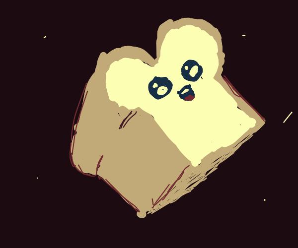 Happy white bread