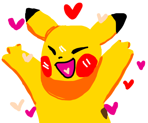 Pikachu loves you!