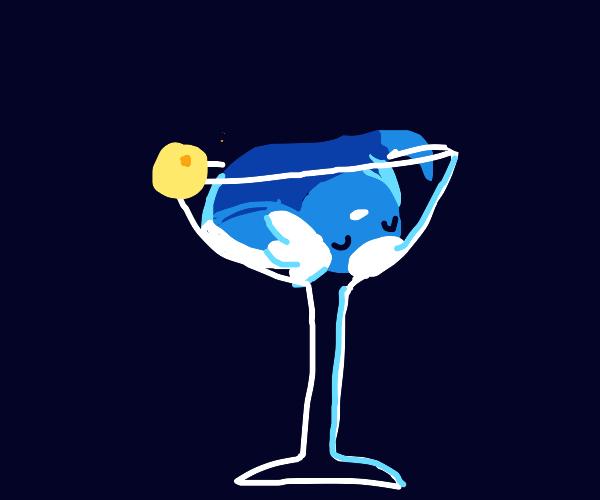 A Dratini in a Martini